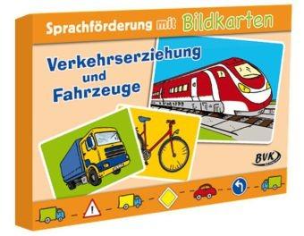 Sprachförderung mit Bildkarten - Verkehrserziehung und Fahrzeuge