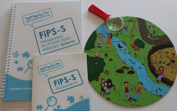 FiPS-S – Fähigkeiten im Puzzle-Spiel erfassen – SPRACHE + Förderideen mit dem Puzzle
