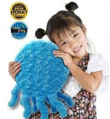 Blaues Seetier - vibrierendes Kissen