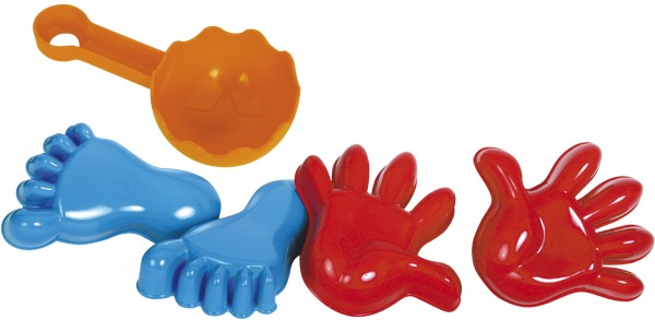 Sandformen Hände/Füße-Set