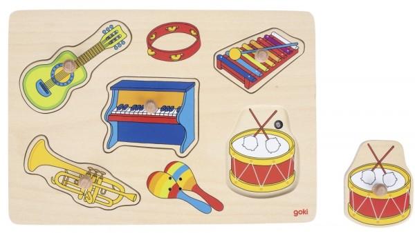 Klang-Puzzle Musikinstrumente