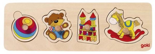 """Steckpuzzle """"Mein Spielzeug"""""""