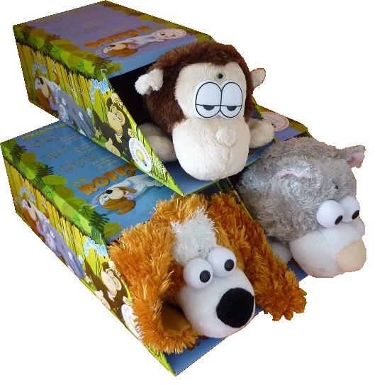 Lachende Tiere - Affe Flixus