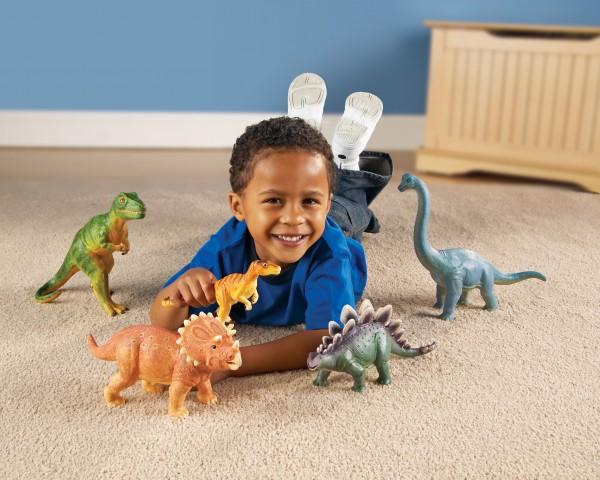 Jumbo Dinosaurier-Set