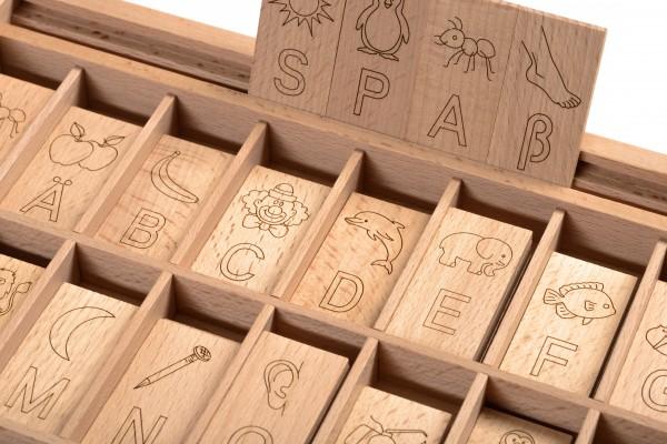 Letteravis Buchstabenspiel
