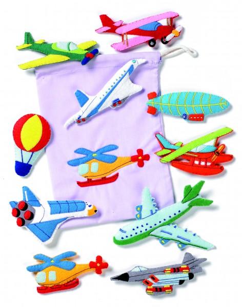 Flugzeuge-Set groß
