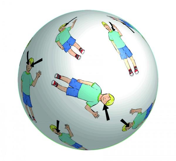 Wörterball Mein Körper