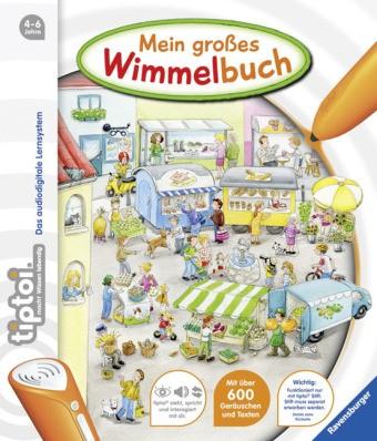 Inka Friese: tiptoi® Mein großes Wimmelbuch
