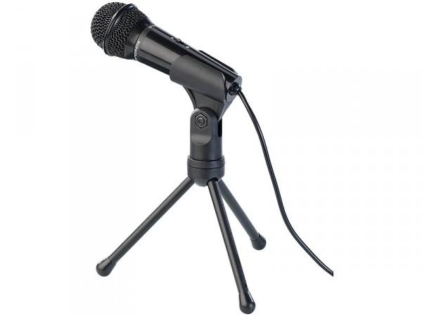 Mikrofon mit Ständer