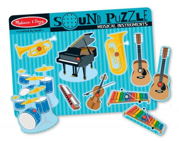 Tönende Musikinstrumente - Soundpuzzle
