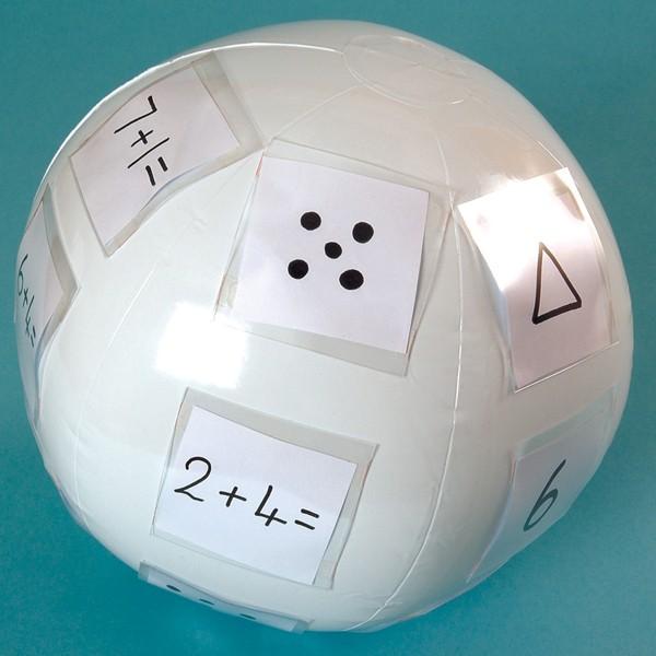 Wörterball für eigene Bilder und Symbole