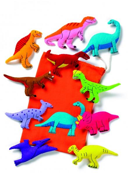 Dinosaurier-Set groß