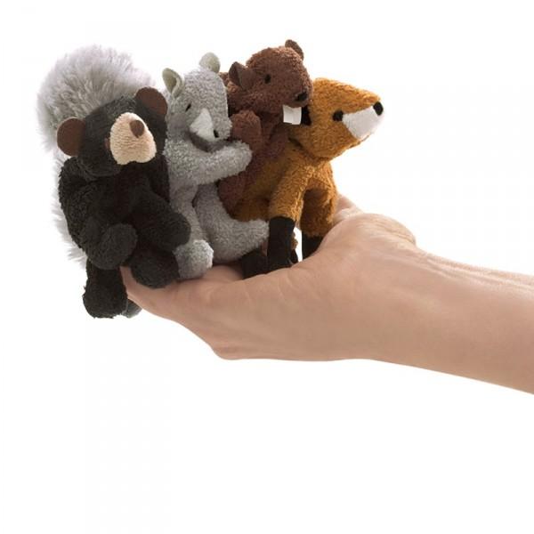Fingerpuppen-Set Waldtiere