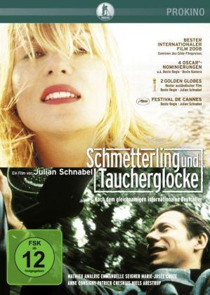 Schmetterling und Taucherglocke - DVD