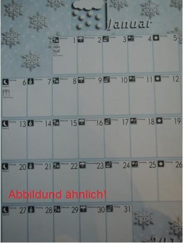 Pictogenda Wandkalender 2019