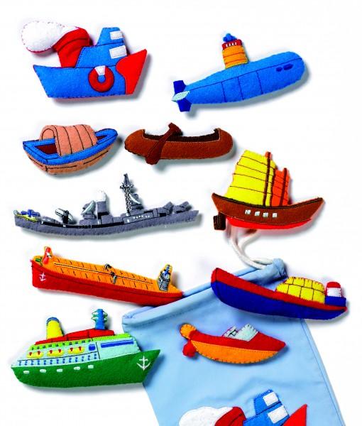 Schiffe-Set groß