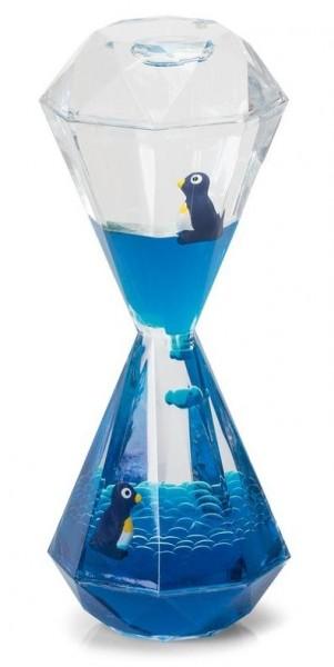 Pinguin Wasseruhr