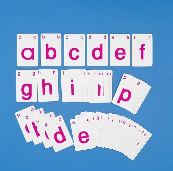 ABC-Karten klein 2er Set