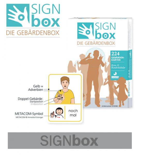 SIGNbox 1 - zur Zeit leider nicht lieferbar