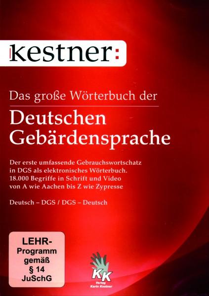 Kestner: Das große Wörterbuch der Deutschen Gebärdensprache