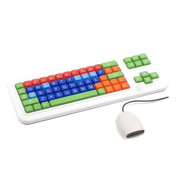Clevy Tastatur QWERTY drahtlos