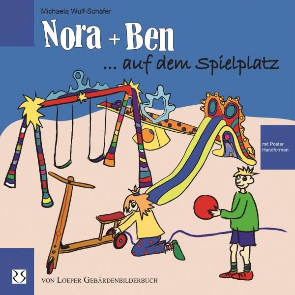 Wulf-Schäfer: Nora und Ben auf dem Spielplatz