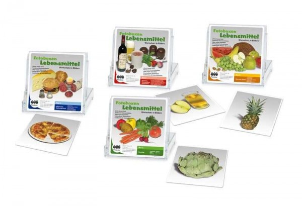Kombipaket Lebensmittel-Fotoboxen