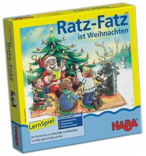 Ratz-Fatz ist Weihnachten (Kinderspiel)