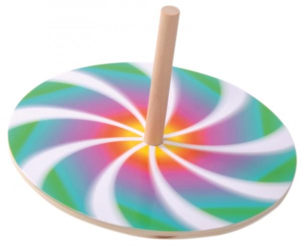 Spielkreisel mit 10 Scheiben