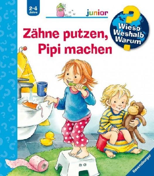 Nahrgang: Zähne putzen, Pippi machen
