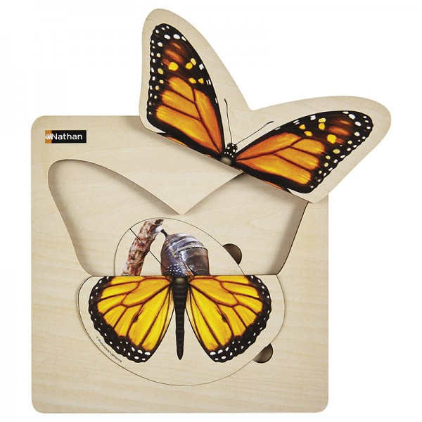 Schmetterling Lagenpuzzle
