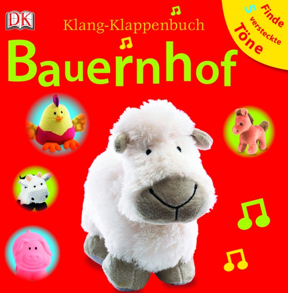 Bauernhof Klang-Klappenbuch