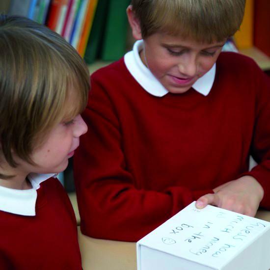 Sprechende Geheimnisbox: spricht auf Knopfdruck