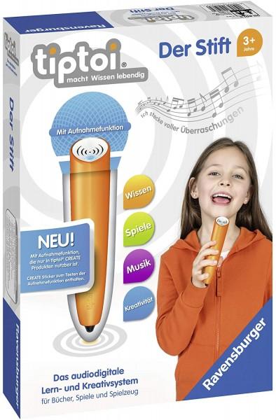 tiptoi - Der Stift - 3. Generation mit Aufnahmefunktion bei ARIADNE