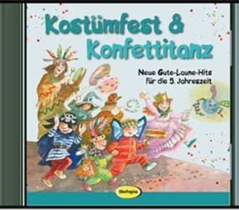 Kostümfest & Konfettitanz Audio-CD