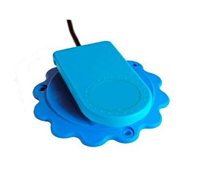 Aqua Popz Switch mit Unterlage blau