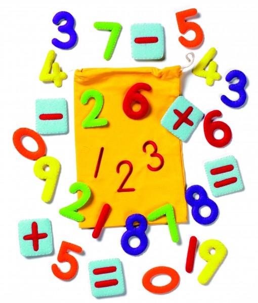 Zahlen-Set klein