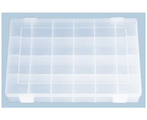 Transparente Sortierbox