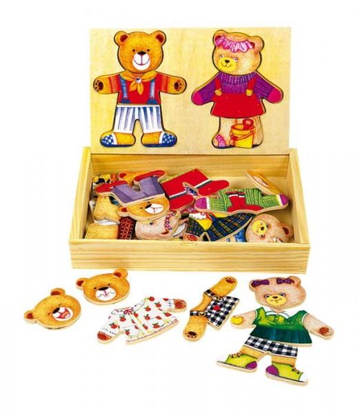 Die Auszieh-Anzieh-Bären-Kiste