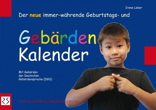 Der neue immerwährende Geburtstags-Gebärden-Kalender