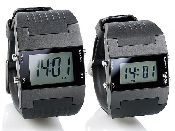 Sprechende Armbanduhr Timesound