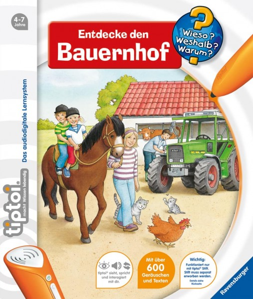 Friese: tiptoi Entdecke den Bauernhof