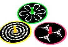 Holografix Spiralkreisel 3-erSet