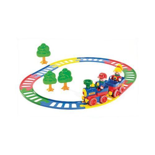 Adaptierte Spielzeugbahn