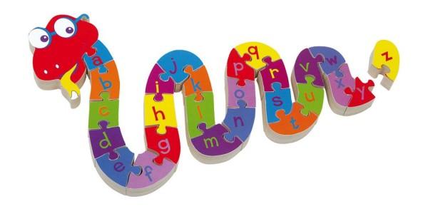 Die lustige Buchstabenschlange