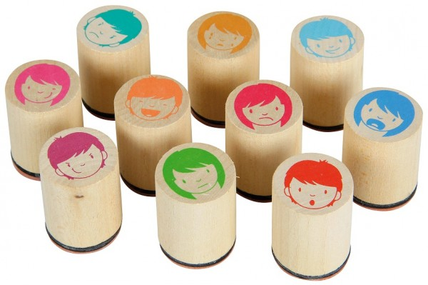 Emotistamp Emotionsstempel 10er Set