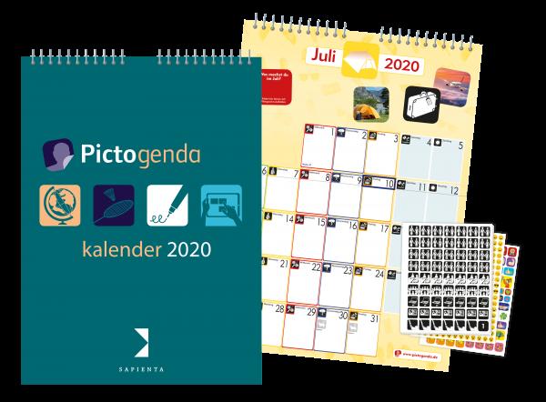 Pictogenda Wandkalender 2020