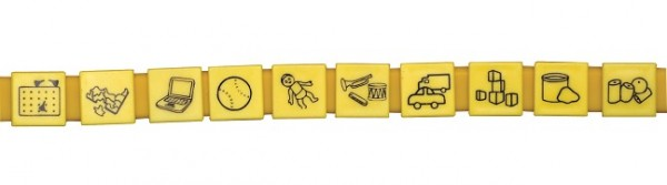 Aktivitaeten im Haus Variables Kommunikations-Armband