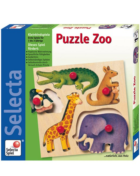 Puzzle Zoo (Holzpuzzle)
