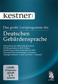 Kestner, Das Große Lernprogramm der deutschen Gebärdensprache
